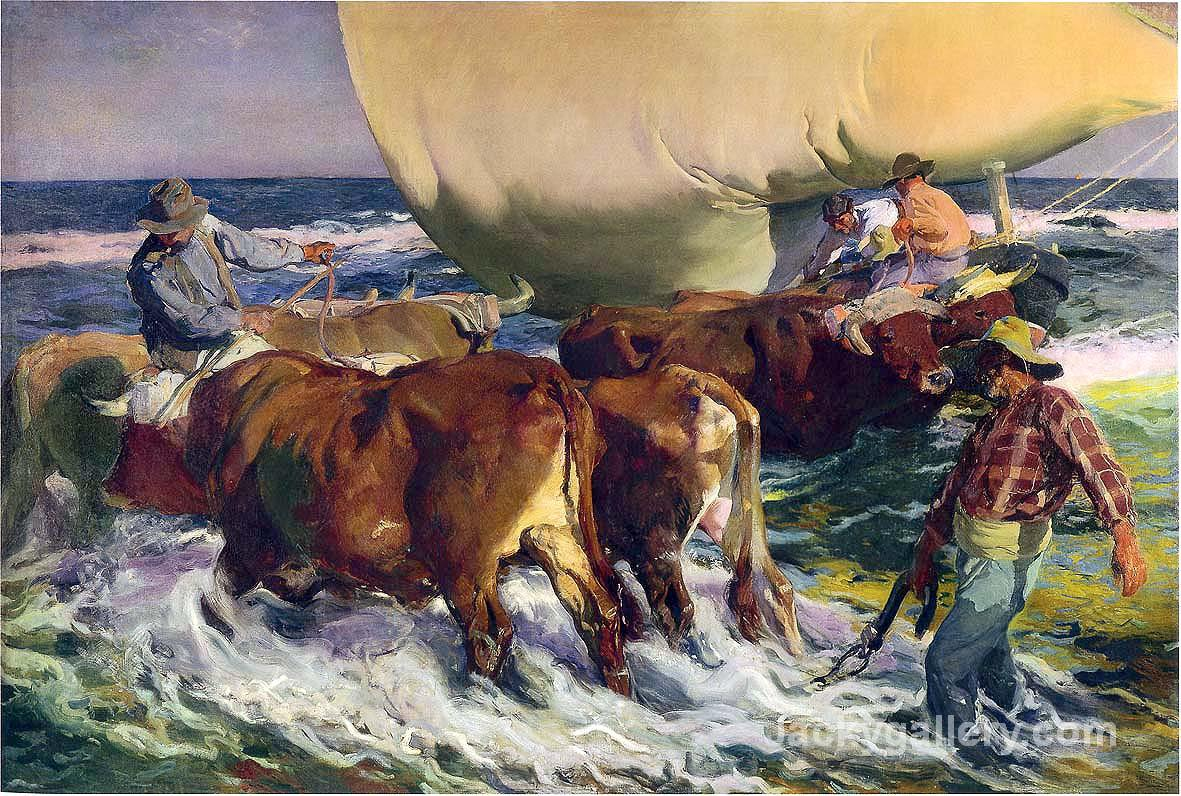 Afternoon Sun by Joaquin Sorolla y Bastida paintings reproduction